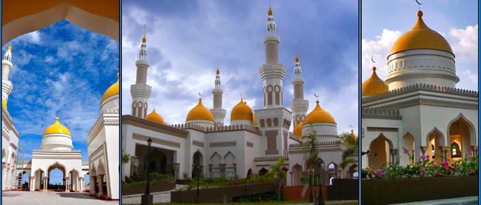 مسجد الذہب ۔۔۔۔ سنہری مسجد