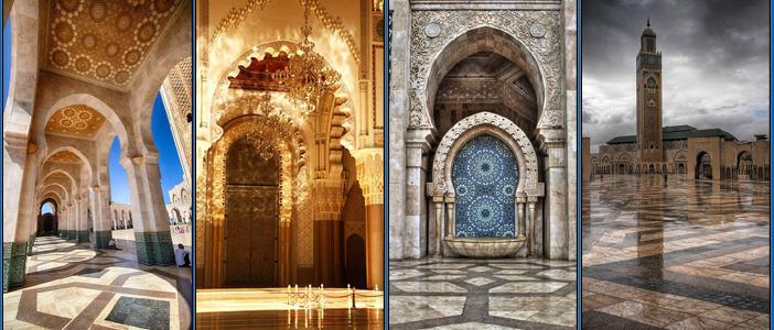 دنیا کی ساتویں بڑی مسجد ۔۔۔۔۔۔ مسجد حسن الثانی
